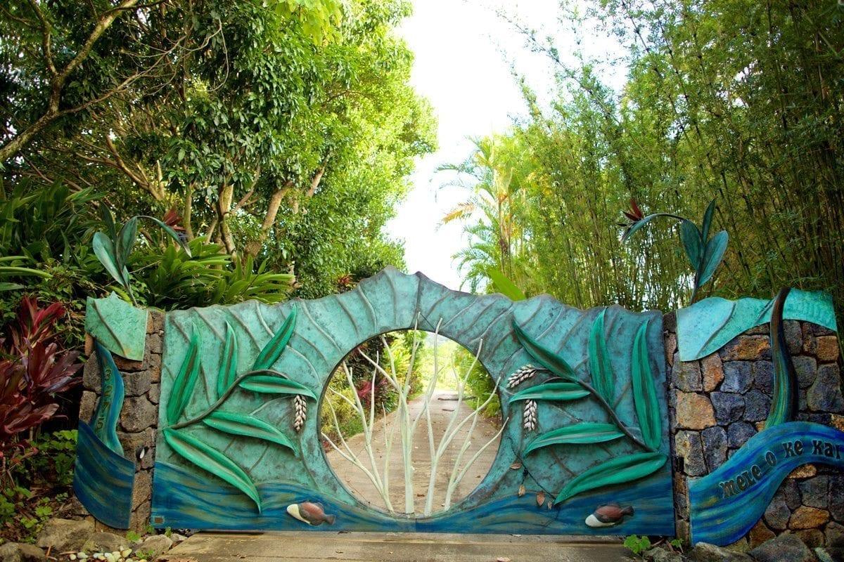 Kauai Entrance Gate - Padilla Designs